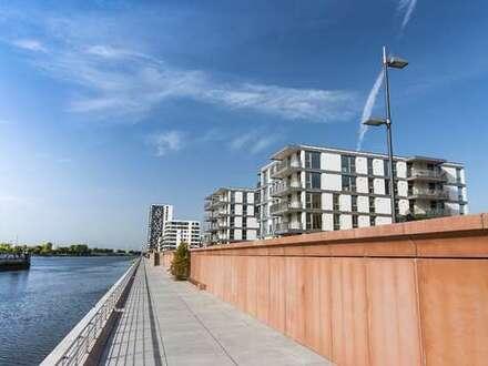 Hier haben Sie die Weser fest im Blick