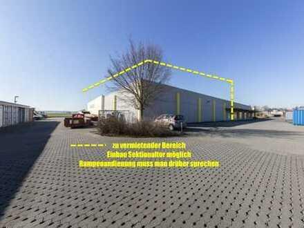 zu vermieten: 1700 m2 Ausstellung/Lagerfläche am Gambacher Kreuz (A54/A5)