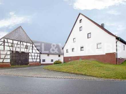EFH mit Nebengebäuden in Schnaittach