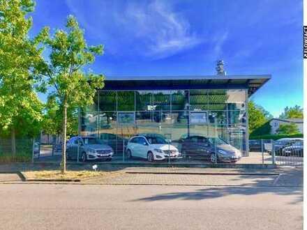 Neuwertiges Autohaus in Karlsruher Bestlage (KA-Knielingen)