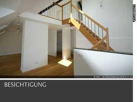 Wunderschön modernisiert! Tolle Maisonette-Wohnung mit großer Dachterrasse!