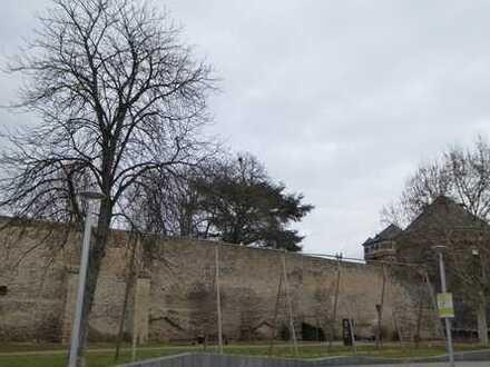 Zentral gelegene, gepflegte 3-Zimmer-Wohnung mit Blick auf Schlossgarten und Stadtmauer in Andernach