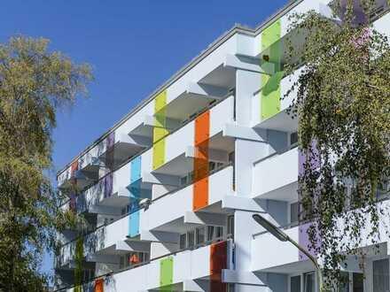 Neu renovierte 2-Zimmer Wohnung mit XL-Balkon