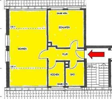 Komfortables Wohnen mit gehobener Ausstattung für 1-2 Personen mit Einbauküche