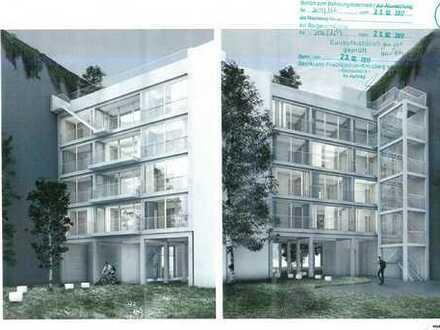 Baugrundstück inkl. Baugenehmigung für 4 Familienhaus am Landwehrkanal