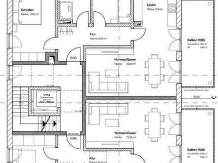 NEUBAU! WOHNEN IN BESTLAGE: Elegante 2-Zimmer-Wohnung