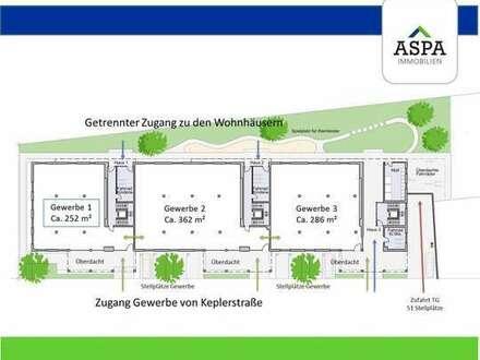 Praxis- und Büroflächen für verschiedene Nutzung - Stellplätze direkt am Gebäude!