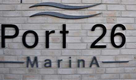 Am Neuen Hafen - Neubau 2 Zimmer-Mietwohnung mit Tiefgaragenstellplatz und Einbauküche!