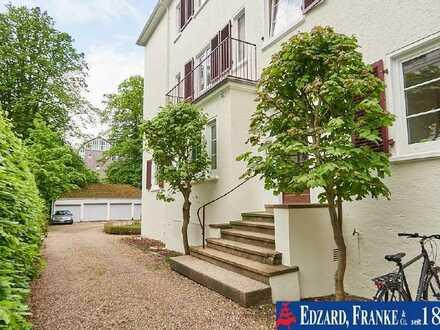 Attraktive 4-Zimmer-Eigentumswohnung inklusive Garten in bester Lage am Bürgerpark!