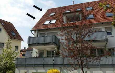 Stilvolle, neuwertige 4,5-Zimmer-Maisonette-Wohnung mit Balkon und EBK in Stuttgart-Plieningen