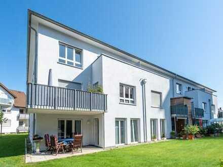 Hanau-Steinheim: Schöne 3 Zimmer-Erdgeschoss Wohnung mit tollem Grundriss & Süd-Terrasse