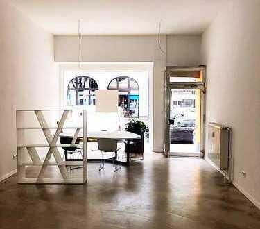 Top-Lage im Kaiserviertel: Renoviertes Ladenlokal mit Schaufenster!