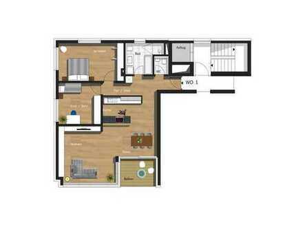 3,5-Zimmer-Wohnung inkl. TG & Außenstellplatz