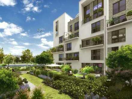 Wohnen am Wasser mit Südloggia - Neubauwohnung mit gehobener Ausstattung