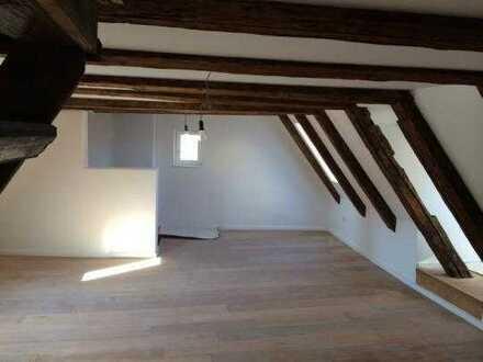 Traumhafte Dachgeschosswohnung in historischem Haus im zentrum Augsburgs