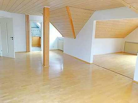 TOP 3,5 Zimmer 2-Etagen Bio-Dachgeschosswohnung in Top Lage