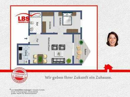 Tolle 2 ZKBB Wohnung in schöner Wohnlage!