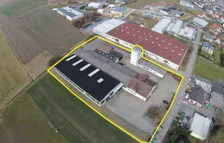 Hallen-, Lagerflächen und Produktion ggf. mit Büro 3,00 bis 4,00 €/qm