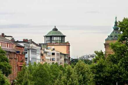 Helle 1-Zimmer-Wohnung mit großem Balkon in begehrter Oststadtlage