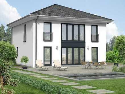 Moderne Stadtvilla in Sailauf inklusive Grundstück!