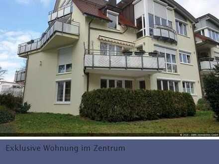 Lichtdurchflutete 3,5-Zimmer Erdgeschoss Wohnung in Crailsheim - Zentrum