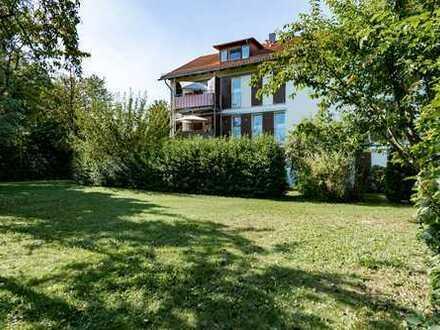 Sonnige 2 Zimmer-Erdgeschosswohnung mit eigenem Garten Poing
