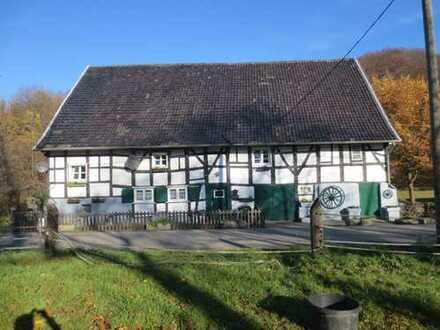 Ehemaliges Bauernhaus (Denkmal) mit Scheune in Langenberg
