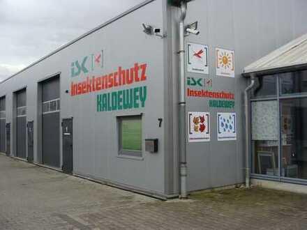 Gewerbehalle mit Büro / Ausstellung / Produktion