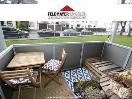 Helle, renovierte 3 ZKB Wohnung mit Balkon und EBK in Haunstetten