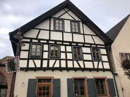 Helle Wohnung im historischen Fachwerk