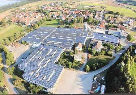 Gewerbe-, Lager- oder Produktionshalle mit Strombezug bis zu 900KW !!!!