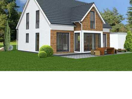 Neubau von einem attraktiven Einfamilienhaus mit 130 m² Wfl. inkl. Grundstück