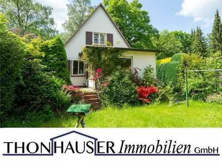 Handwerkerhaus mit Garage und potenziellem Baugrundstück in 22359 Hamburg (Volksdorf)