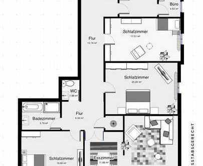 Schöne 4,5 Zimmer Wohnung in Cuxhaven (Kreis), Cuxhaven