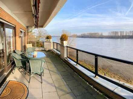 "Wohnung statt Haus ? ""Rhein-Panoramablick-Terrassenwohnung"""