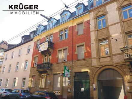 KA-Weststadt / sanierte 3-Zi-DG-Maisonette-Whg mit EBK in der Schillerstraße