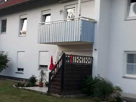 sonnige 2-Raum-Wohnung mit Westbalkon und Einbauküche in Thannhausen, Günzburg (Kreis)