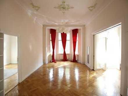 Repräsentatives Büro in der Rheinstraße*Stuckdecken*2 Balkone*Küche
