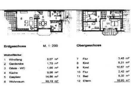 5 Zi. Doppelhaushälfte in ruhiger, sonniger Sackgassenlage von Warstein-Suttrop