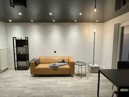 Vollmöblierte Wohnung im Loft-Design mit EBK und Balkon in Sinsheim - 2021 komplett renoviert