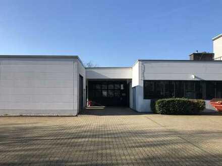 Halle 2: ca. 580 m² Hallen- und Lagerflächen mit flexiblen Nutzungsmöglichkeiten