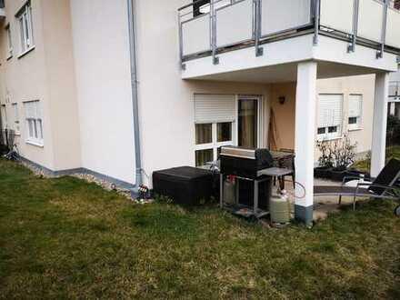 Geschmackvolle 4-Raum-EG-Wohnung mit Garten und Einbauküche in Bietigheim-Bissingen