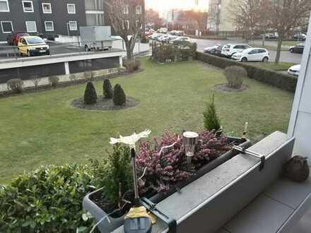 Gepflegte 2-Zimmer-Hochparterre-Wohnung mit Balkon in BS-Weststadt