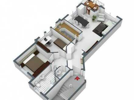 Moderne 3 Zimmer Wohnung ca. 90qm sehr gepflegt Bj.1994