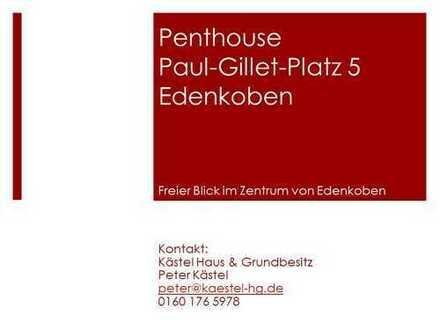 Erstbezug: schöne 3-Zimmer-Penthouse-Wohnung mit 180° Terasse und Blick über Edenkoben