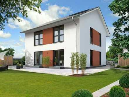 Modernes Haus mit 2 VG (+DG Aufbau und Vergrößerung möglich) auf dem Grundstück in Tamm!