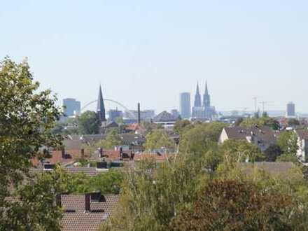 Schöne Wohnung mit Panorama BLICK auf Kölner Dom
