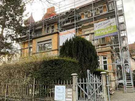 Erstbezug nach Sanierung: Altbauetage, 5 Zi- ca. 165 qm, Parkett, Balkon uvm.