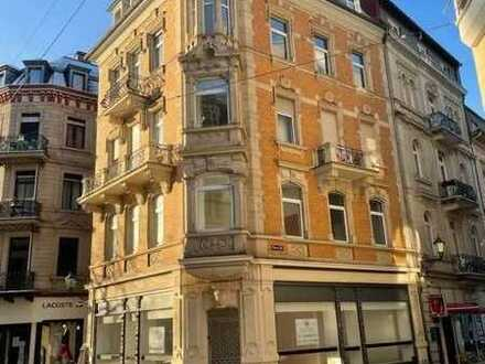 Exklusives Ladengeschäft in der Fußgängerzone von Baden-Baden