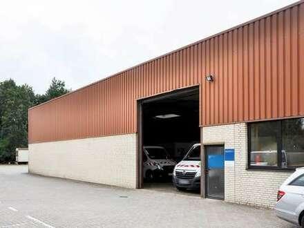 Nähe Ostring - Gewerbehalle mit Aussenfläche, 2 Rolltore in Bielefeld Heepen